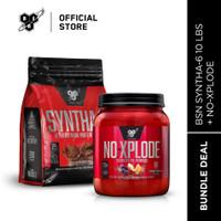 BSN Bundle SYNTHA-6 10LBS + NO XPLODE 60 Serving