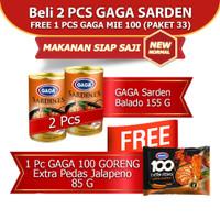 SardenBalado 2 pc GRATIS 1pc Gaga 100 GORENG Extra PedasJalapeno(GG33)