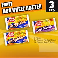 Paket Duo Cheez Butter (2TBC, 1BOB) - Jolly Time Mircowave Popcorn