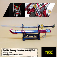 Gantungan Kunci Pedang Gundam Astray Red