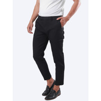 Namuda Semi Ankle Chino Pant - Black