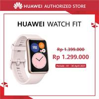 HUAWEI Watch Fit [10 Days Battery Life] [Amoled Display] Sakura Pink