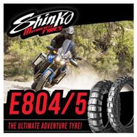 Ban Shinko BigBlock E804/E805 120/70-17 + 140/80-17 ( Paket Hemat )