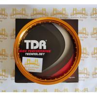 VELG TDR W SHAPE UKURAN 185 x 17 GOLD RING 17