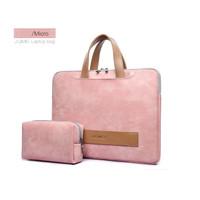 Laptop Lenovo Ideapad 130 07ID 14 Sleeve Tas Leather Premium Bag Pink