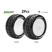 Louise 1/10 E-Rocket TIRE 12MM Buggy Schumacher TLR Ban Rc L-T3186SWKF