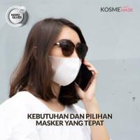 MS Glow Kosmemask - 1 Box Isi 50 Masker Kosme Fitmask Nano Silver Mask