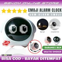 Emoji Digital Alarm Clock - Jam Weker Alarm Anak Anak