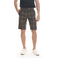 MANZONE Celana Pendek Pria Bermuda Casual Slim Fit Oska 2-Grey