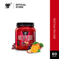 BSN N.O-Xplode 2.5lbs Pre-Workout Energy Drink - Fruit Punch