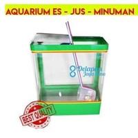 Aquarium Es Kelapa SEDANG  Aquarium Es Buah Box Es Kelapa (GOJEK/GRAB)