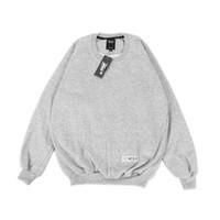 Sweater Polos Crewneck Basic Unisex / Sweatshirt Heavy Fleece JUMBO