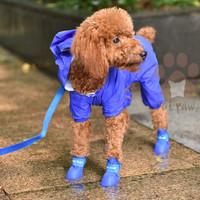 Sepatu Anjing Karet   Sepatu Boots Anjing Anti Air Hujan   Pet Shoes