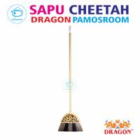 Pamosroom Sapu Cheetah Dragon Sapu Lantai Rumah Sapu Senar Nilon
