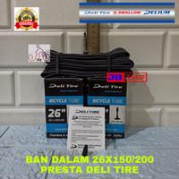 BAN DALAM 26 X 1.50 1.75 1.95 2.00 PENTIL PRESTA 150 175 195 200