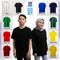 Kaos Polos cotton combed 30s / Kaos polos murah / Kaos polos premium 1