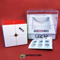 Rubik 2x2 Magnetic Qiyi MS - QiYi MS 2x2x2 Stickerless