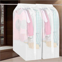 Cover Pakaian Plastik Pelindung Pembungkus Baju Anti Debu WATERPROOF