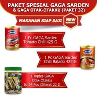 Paket Spesial Gaga Sarden & Gaga Otak-Otakku (GG32)