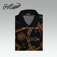 Kaos Kerah Polo Shirt Crocodile 180-437