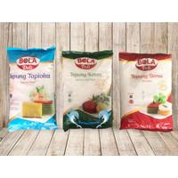 Tepung BOLA DELI all Varian / tapioka / beras / ketan - TAPIOKA