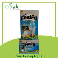 Susu Kambing Plus Royal Jelly GOATFIT MILK RASA ORIGINAL VANILLA