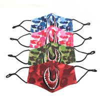 Bape Abc Camo Shark Mask 100% Original