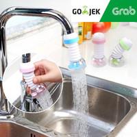 Sambungan Keran Kran Air Fleksibel Faucet Anti Splash PUTAR 360