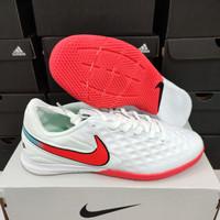 Sepatu Futsal Nike Tiempo Legend 8 Pro White Red ic - sepatu bola