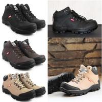 Terlaris !! Sepatu Safety Pria Boots Ujung Besi Nike Amazon Haiking