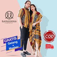 Baju Set Couple Tenun Wanita Etnik Troso Jepara / Baju Tenun Couple #1