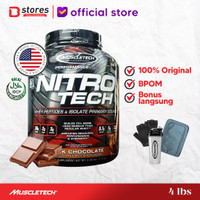 Muscletech Nitrotech Whey Isolate 4lb Bstores