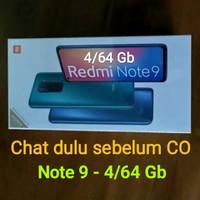 Xiaomi Redmi Note 9 / 9 Pro - Baca Deskripsi dan Foto Garansi Resmi