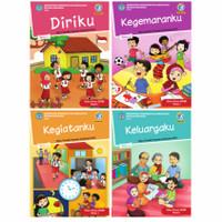 Paket Buku Tematik SD Kelas 1 Tema 1,2,3,4 total 4 buku edisi revisi 2