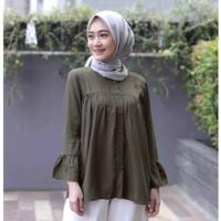 JELITA BLOUSE Bahan Katun Rayon BUSUI Baju Atasan Blus Wanita Terbaru