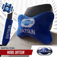 Bantal Mobil Datsun 1 set /Bantal Sandaran Leher Jok Mobil