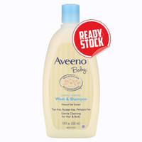 Aveeno, Baby, Wash & Shampoo, Lightly Scented, 18 fl oz - 532 ml