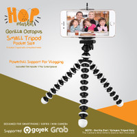 Octopus Gorilla SMALL SIZE Tripod With Holder U for Smartphone / HP
