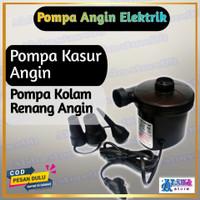 Pompa Angin Elektrik Portable Vacuum Kolam Renang Anak Kasur Angin