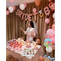 SET Foil Balloon Bride To Be / Dekorasi Balon Selempang Bridal Shower