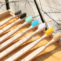 PREMIUM Bamboo ToothBrush Sikat Gigi Bambu Eco Friendly Tooth Brush - Sikat Putih