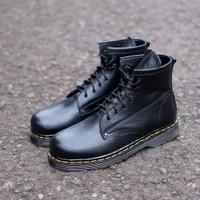 SEPATU KULIT AZCOST FOOTWEAR LEON BOOTS BLACK ORIGINAL
