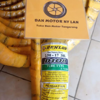 Ban Motor Dunlop D108 Ring 17 250 Tube Type (Bukan Tubeless)