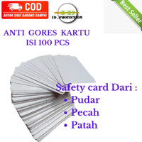 HARGA GROSIR Anti gores sim ktp/Plastik Laminating/ pelindung kartu