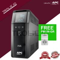 APC BR1600SI Back UPS Pro BR 1600VA, Sinewave, 8 Outlets, AVR, LCD