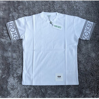 Kenzo Paris Sleeve Text Logo White T-Shirt | 100% ORIGINAL