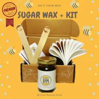 Original Cool Sugar Wax 195gr Penghilang Bulu Ketiak dan Betis