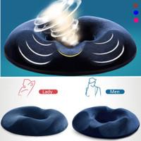 Bantal Donut Donat Kesehatan Alas Duduk Memory Foam Seat Cushion