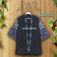 Outwear Kimono Cardigan Tenun Atasan Pria Akainu OUA001 - KAOO1, M
