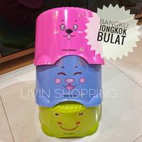 Bangku Jongkok Bulat Plastik Sunlife